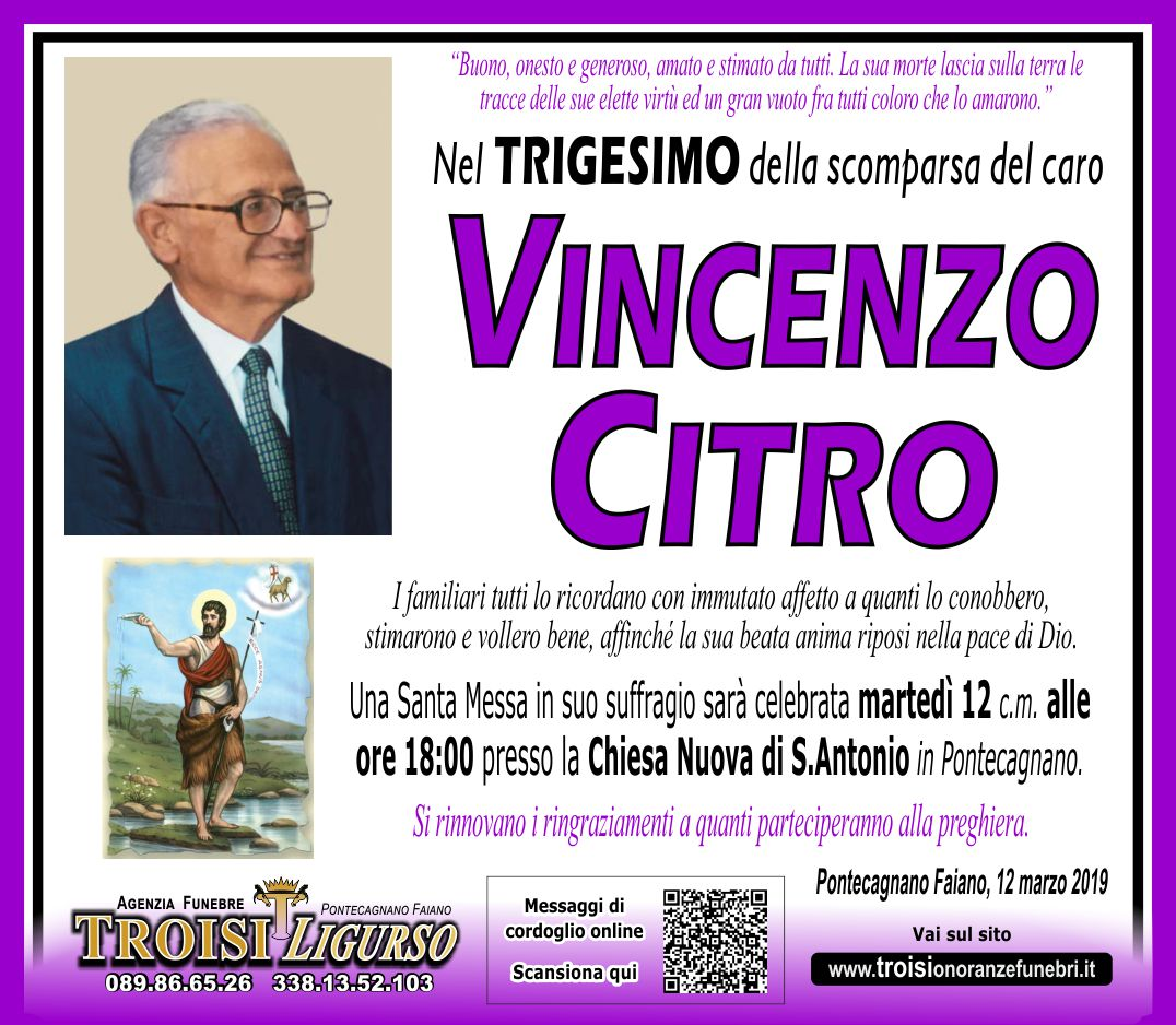 VINCENZO CITRO