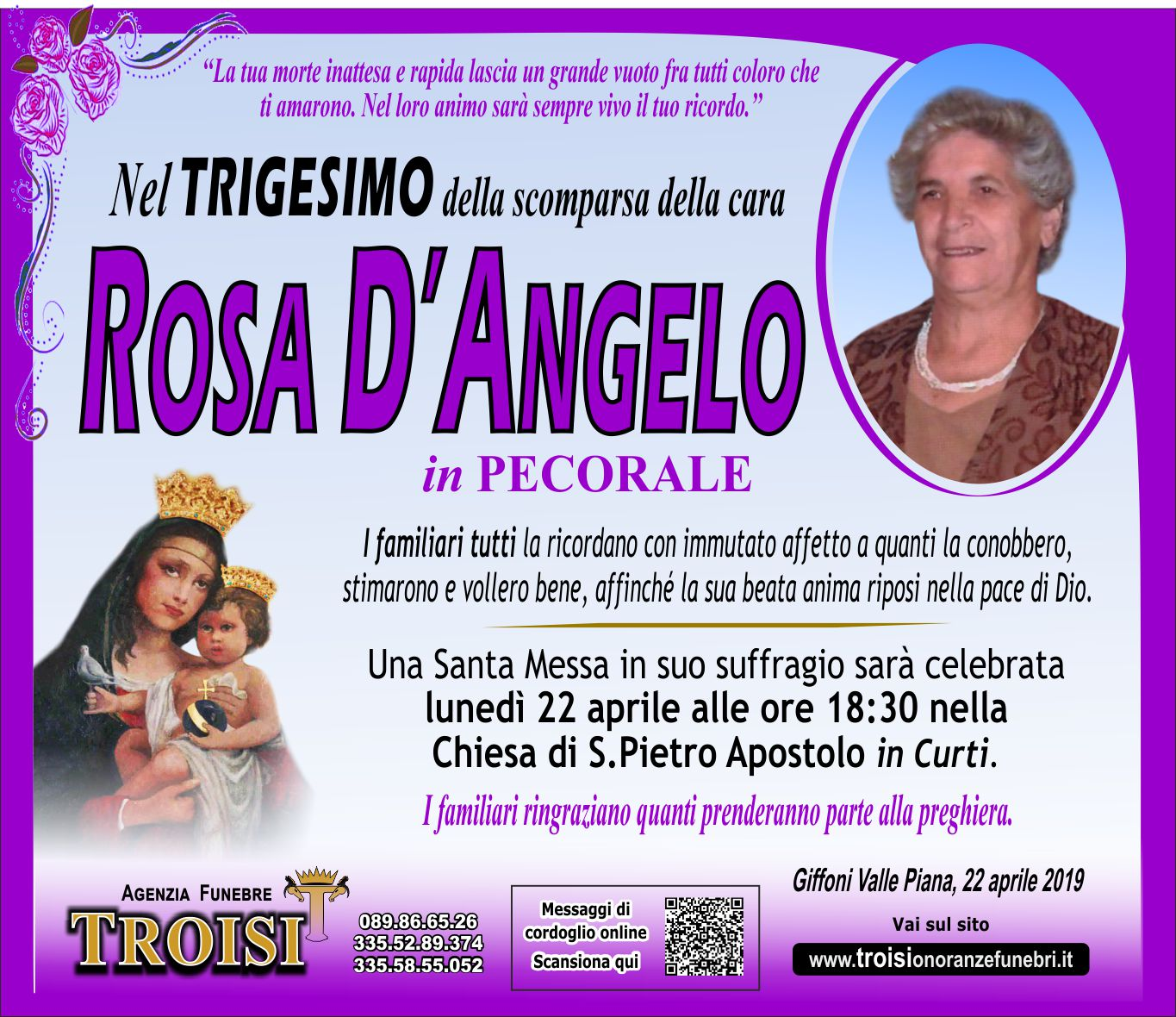 ROSA D'ANGELO
