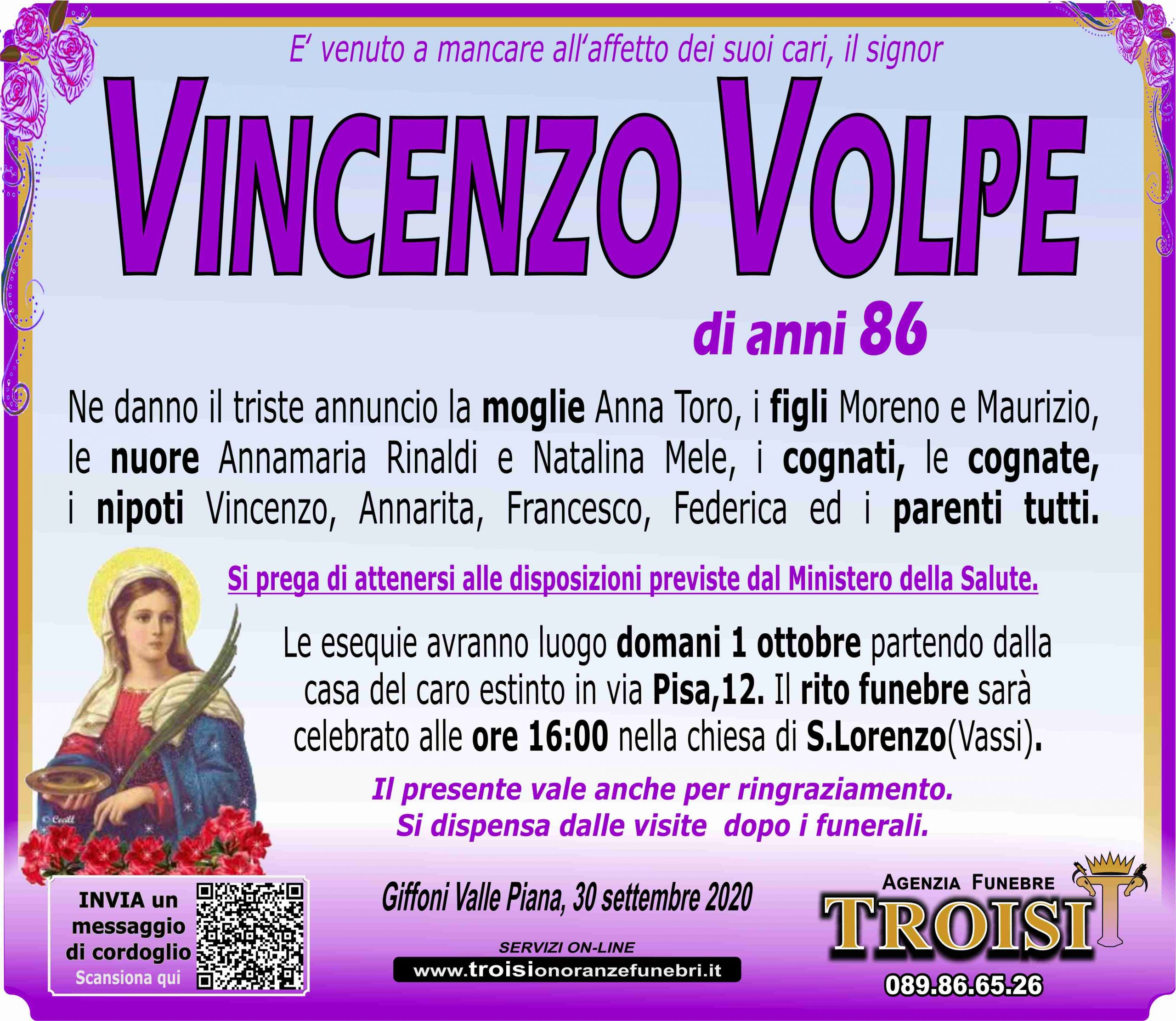 VINCENZO VOLPE